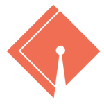 orange graduation hat